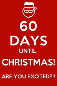 Image result for 60 days until christmas